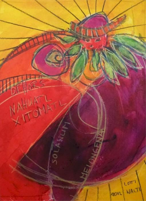 ERDWEIBCHEN--NAHUATL XYTOMATL + SOLANUM MELONGENA