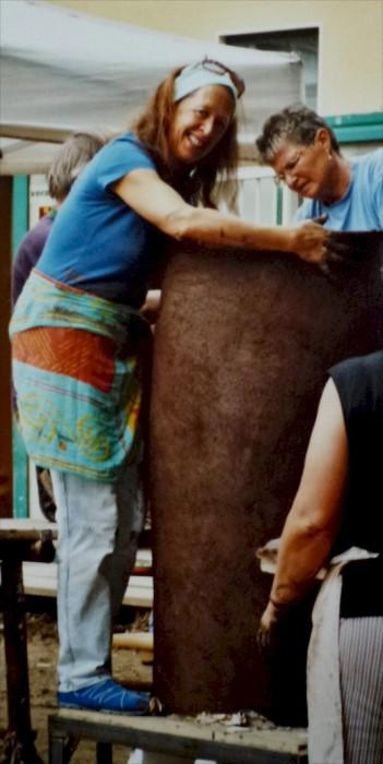 FEUERSKULPTUR Keramiksymposium 2007--2