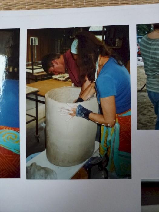 FEUERSKULPTUR Keramiksymposium 2007